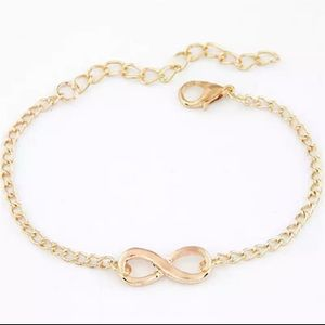 Gold Filled Infinity Bracelet